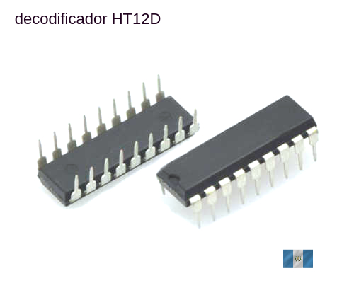 decodificador HT12D